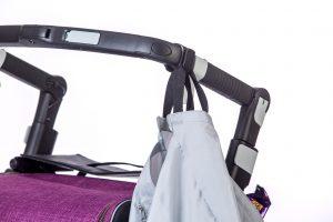 Rollz Flex Soporte para colgar tu bolsa de compras del andador de tu manillar
