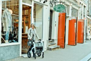 De tiendas con tu andadera Rollz Motion