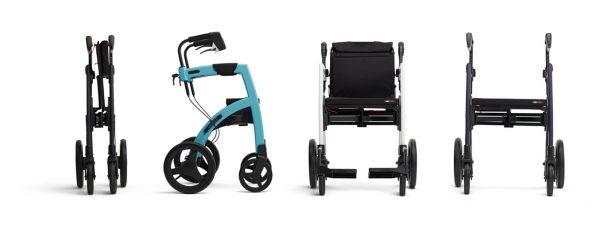 Andador Convertible en silla de ruedas Rollz Motion Cuatro Posiciones
