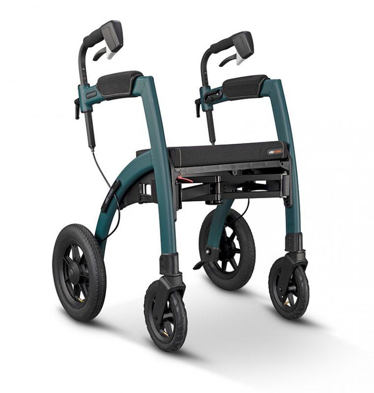 Rollz Motion Performance Andador y Silla de ruedas Todoterreno color Verde Jungla