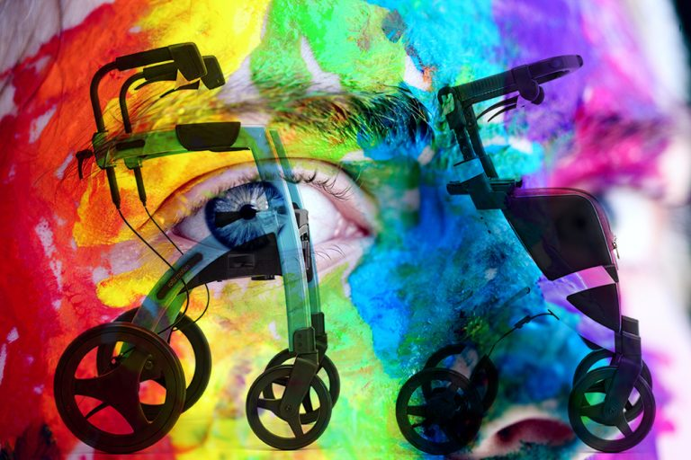 Rollz Motion personaliza tu andador con Rollz By Rollzing
