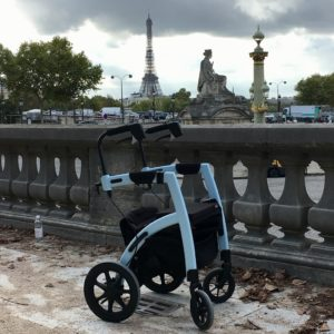 Rollz Motion y Ardra Shephard en Paris