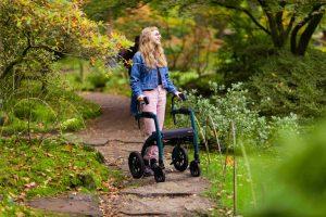 Caminar con un andador Rollz Motion