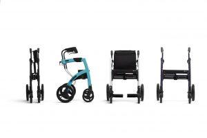 Andador y Silla de ruedas rollz Motion en cuatro posiciones