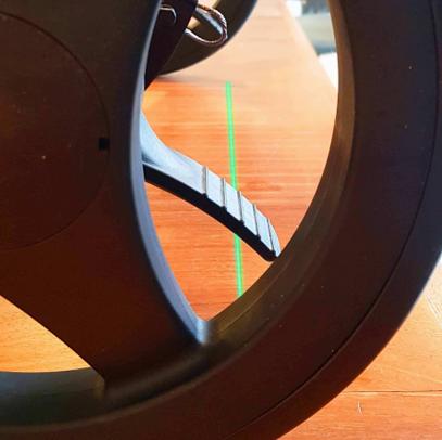 Andador Rollz Motion Rhythm señal laser