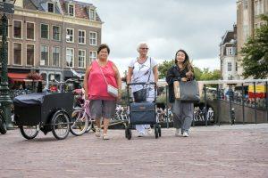 Perder el miedo a usar un andador para ancianos
