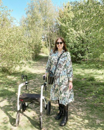 Rollz Motion y Samantha en Worm's Lane Wood